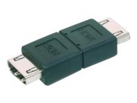 Bild von ASSMANN HDMI Adapter Typ A Bu/Bu Ultra HD 60p sw