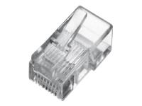 Bild von ASSMANN Modular Stecker für Flachbandkabel 8P8C ungeschirmt ASS 0512 CO