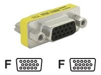 Bild von DELOCK Adapter Gender Changer VGA Buchse-Buchser Gender Changer VGA Buchse-Buchse