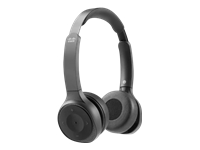 Bild von CISCO 730 WIRELESS DUAL ON EAR HEADSET USB A BUNDLE CARBON BLACK
