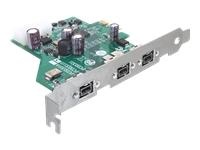 Bild von DELOCK PCI Express Karte > 3 x FireWire B