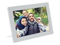 Bild von INLINE digitaler WIFI Bilderrahmen WiFRAME 25,65cm 10,1Zoll 1280x800 16:9 LCD IPS Touchscreen weiss