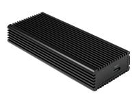 Bild von INTER-TECH K-1685 NVMe USB 3.0 Gen 2 SSD-Case Platz fuer M.0 NVMe 80x22 SSD Aluminium-Gehaeuse USB Type C