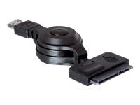 Bild von DELOCK Kabel eSATAp > SATA 22pin 6.4cm 2.5 Zoll Aufrollkabel