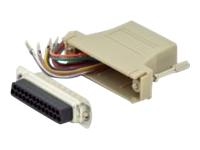Bild von ASSMANN Adapter DB25 RJ45 Modular DB25 M RJ45 F
