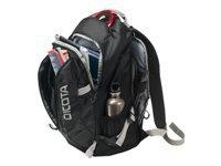 Bild von DICOTA Backpack ACTIVE 39,6cm 14-15,6Zoll schwarz/schwarz