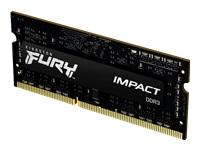 Bild von KINGSTON 4GB 1600MHz DDR3LCL9SODIMM1.35V FURYImpact