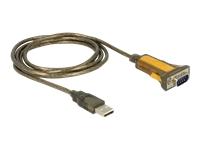 Bild von DELOCK Adapter USB 2.0 Typ-A > 1 x Seriell RS-232 DB9 erweiterter Temperaturbereich
