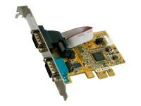 Bild von EXSYS 44072 PCIe x1 2x seriell RS-232 WHQL
