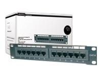 DIGITUS Patch Panel Cat5e 12-Port 10inch - Kovera Distribution