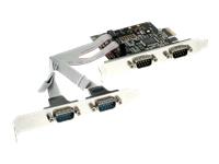 Bild von INLINE Schnittstellenkarte 4x Seriell 9-pol PCIe PCI-Express