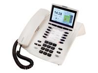 AGFEO ST 45 IP reinweiss Anschluss ?ber LAN an ein AGFEO AS System mit FW gr?sser gleich 9.2 und ES System mit FW gr?sser gleich 1.3
