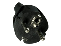 Bild von EFB Netzadapter Schuko auf Kaltgeraetebuchse 250V 10A PVC Temperaturbestaendigkeit bis 70Grad  Halogenfrei Oelbestaendig