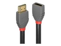 Bild von LINDY 0.5m HDMI Verlängerungskabel Anthra Line