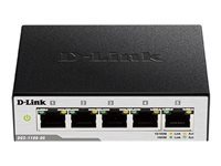 Bild von D-LINK DGS-1100-05 Gigabit Smart Switch 5-Port 100BaseTX Auto-Negotiating 5x 10/100/1000Mbps Switch /Web based management