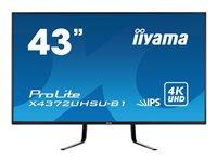Bild von IIYAMA X4372UHSU-B1 109,22cm 43Zoll 3840x2160 UHD IPS HDMIx2 DisplayPortx2 Speakers USB-HUB PBP PIP