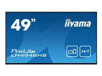 Bild von IIYAMA ProLite LH4946HS-B1 124,46cm 49Zoll Android-powered professional digital signage display with daisy chain function