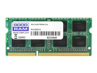GOODRAM SO-DIMM 8192MB DDRAM3 1600MHz - Kovera Distribution