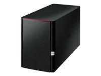 Bild von BUFFALO LinkStation 220 2Bays NAS 2x 1TB with WD Red & 3 years warranty 0/1/JBOD SATA 3Gb/s