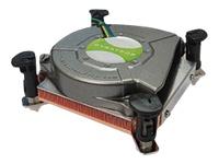 Bild von DYNATRON K2 Intel CPU Kuehler mini ITX LGA1150/-51/-55/-56 Kuehlkoerper Kupfer aktiv mit PWM und bis zu 73W TDP Push-Pin Montage