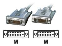 Bild von ROLINE Monitorkabel DVI dual link m/m 3m