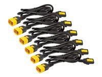 Bild von APC 6x Stromkabel C13 / C14 0,6m