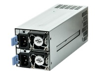 Bild von FANTEC NT-MR550W 2x550W EPS Mini Redundant Full Range 24+8+4pin Hochverfuegbarkeit 24x7 Hot Swap 2xStromeingang