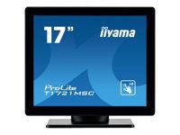 Bild von IIYAMA ProLite T1721MSC-B1 43cm 17Zoll kapazitiv multitouch LED Backlight 1280x1024 5ms 225cd/m2 Schutzglas VGA DVI schwarz