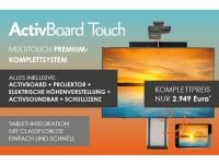 Bild von Bundle PROMETHEAN ActivBoard 10Touch 88 Dry Erase Premium-System