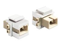 Bild von DELOCK Keystone Modul SC Simplex Buchse > SC Simplex Buchse
