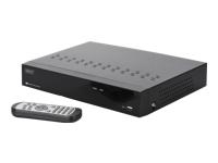 Bild von DIGITUS Plug+View Netzwerk Video Rekorder 4 Kanaele 720p kompatibel zum Plug+&View System und ONVIF 2 x USB2.0,10W inkl. 1TB HDD