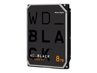 Bild von WD Desktop Black 8TB HDD 7200rpm 6Gb/s serial ATA sATA 256MB cache 8,9cm 3,5Zoll intern RoHS compliant Bulk