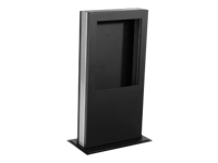 Bild von PEERLESS Desktop Kiosk fuer iPad + Tabletts schwarz 230x395x127 mm