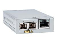 Bild von ALLIED TAA 10/100TX to 100FX/SC MM Media & Rate Converter Multi-region PSU