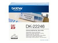 Bild von BROTHER Tape DK Tapes - Continuous roll adhesive 103.6 mm x 30.48 m