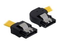 Bild von DELOCK Kabel SATA 6Gb/s 30cm gelb re/ge Metall