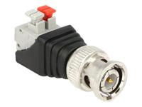 Bild von DELOCK Adapter Terminalblock mit Drucktaste > BNC Stecker