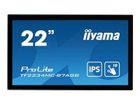 Bild von IIYAMA 21.5inch IPS PCAP AG Bezel Free 10P Touch 1920x1080 1000:1 300cd/m2 8ms VGA DP HDMI USB Interface