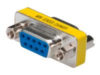 Bild von ASSMANN Gender Changer D-Sub9 Metallgehäuse F/F mit Sechskantschraube + mutter