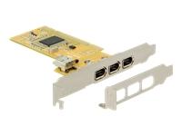 Bild von DELOCK PCI FireWire 3+1 mit Low profile