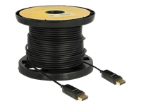 Bild von DELOCK Aktives Optisches Kabel DisplayPort 1.2 Stecker > DisplayPort Stecker 4K 60Hz 40m