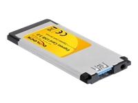 Bild von DELOCK Express Card > USB3.0 1x NEC flach