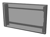 Bild von PEERLESS-AV EWL-55XE4F Wandhalterung Querformat mit Neigungsfunktion für LG Display LG55XE4F Farbe Schwarz