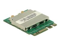 Bild von DELOCK Modul M.2 Key A+E Stecker > WLAN 11ac/a/b/g/n + Bluetooth 4.0