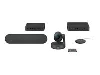 LOGI RALLY WEBCAM BLACK USB EU - Kovera Distribution