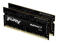 Bild von KINGSTON 8GB 1600MHz DDR3LCL9SODIMMKit of 2 1.35V FURY Impact