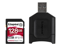 Bild von KINGSTON 128GB SDXC React Plus SDR2 + MLP SD Reader
