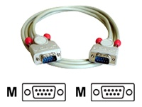 Bild von LINDY RS232 Kabel 9 pol. Sub-D Stecker an 9 pol. Sub-D Stecker 3m