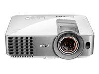 Bild von BENQ MW632ST DLP Projektor WXGA 1.200x800 3200AnsiLumen 13.000:1 16:10 HDMI USB RS232 RGB 1x10W 33dB Smart Eco weiss