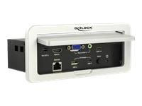 Bild von DELOCK Multi-AV zu HDMI Konverter 4K 60Hz für Tischeinbau